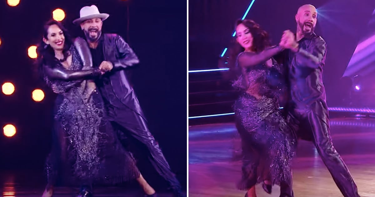 """AJ McLean Dedicates His DWTS Performance to His Wife Rochelle: """"She's My Superhero"""""""