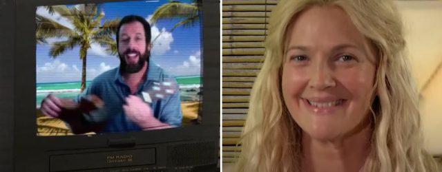Adam Sandler and Drew Barrymore Had a 50 First Dates Reunion With a Modern-Day Twist