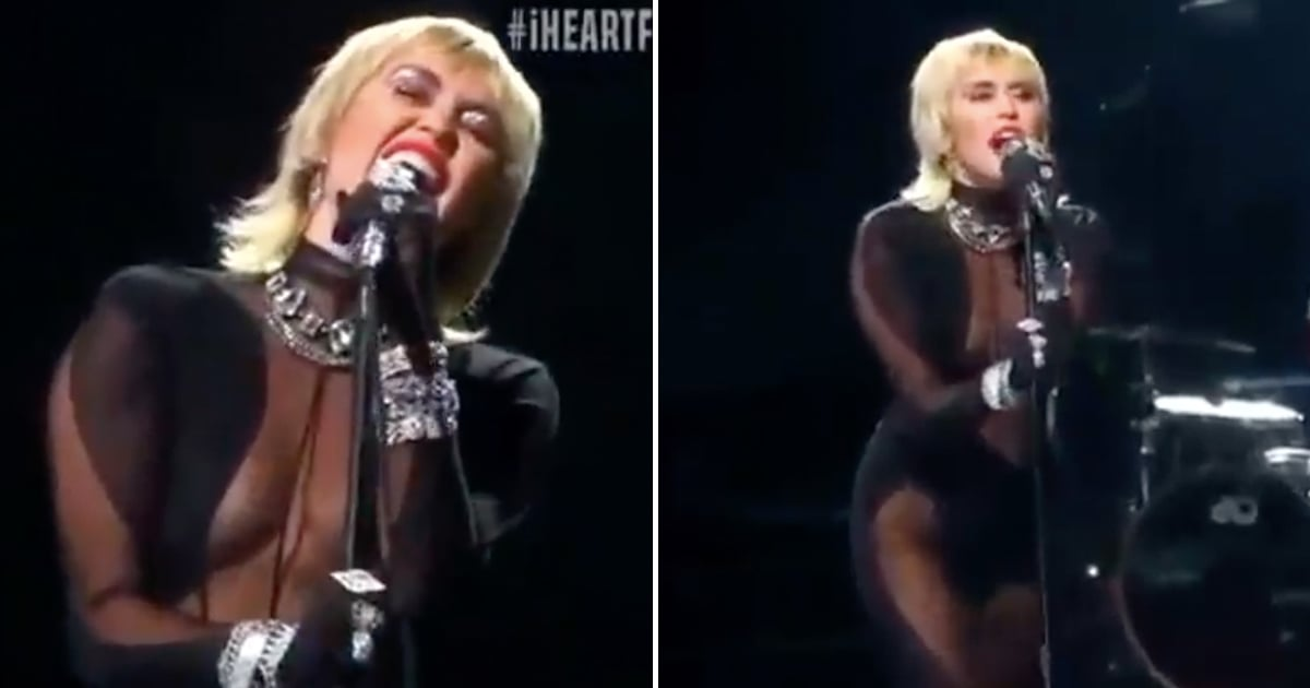 """I've Been Thinking About Miley Cyrus's """"Heart of Glass"""" Performance For a Full Week, No Joke"""