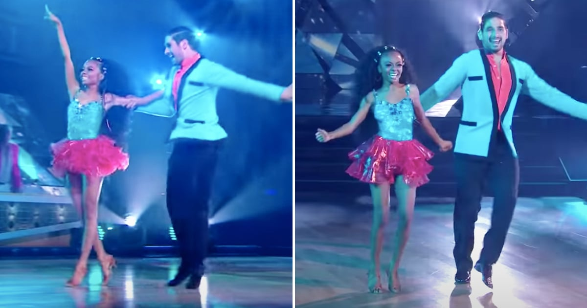Let's Be Real, Skai Jackson Handled Her Dancing With the Stars Performance Like a Total Pro