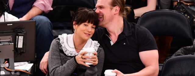 Now That Lily Allen and David Harbour Are Married, Let's Look Back at Their Relationship Timeline