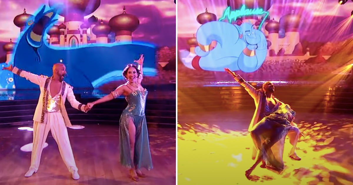Prepare to Be Completely Charmed by AJ McLean's Aladdin Performance on DWTS