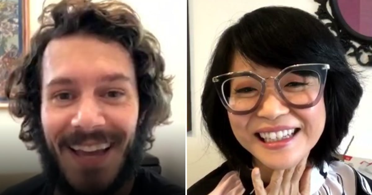 We Have Voting to Thank For Adam Brody and Keiko Agena's Long-Awaited Gilmore Girls Reunion
