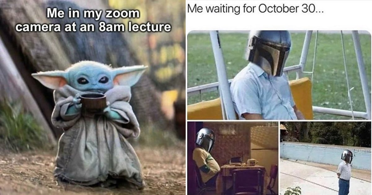 32 Mandalorian Memes That Will Brighten Your Day — Yes, Including Baby Yoda Ones