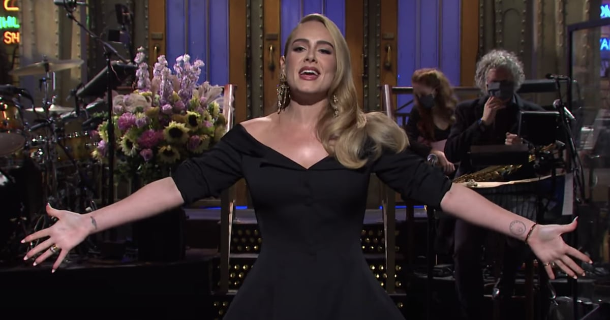 Adele Says Hello From the SNL Stage in a Sweet, Swear-Free Opening Monologue
