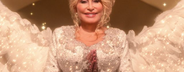 Angel Dolly Parton Sings a Heavenly Tune in the Official Trailer For Christmas on the Square
