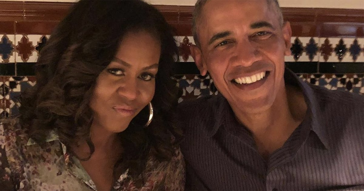 "Barack and Michelle Obama Pen Sweet 28th Anniversary Tributes to Each Other: ""So Grateful"""