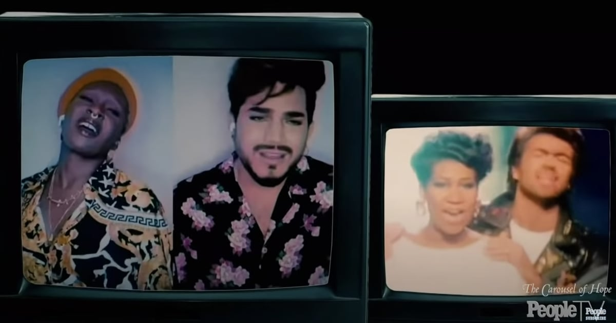 Cynthia Erivo and Adam Lambert Teamed Up For a Joyous Duet I Can't Stop Rewatching