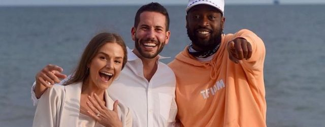 Dwyane Wade Crashed This Couple's Proposal, and 2020's Cutest Instagram Exchange Ensued