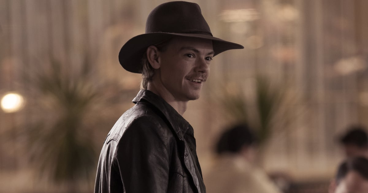 I Am Very Attracted to Thomas Brodie-Sangster as a Chess Cowboy on The Queen's Gambit