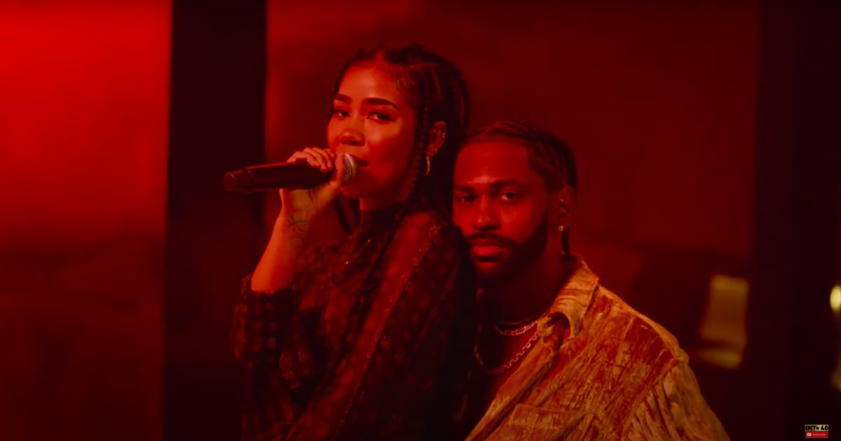 Jhené Aiko and Big Sean's Chemistry Is Electric During Their BET Hip Hop Awards Performance