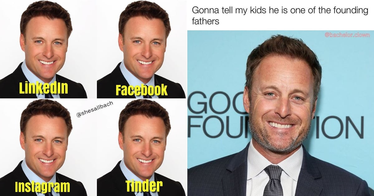 Just a Bunch of Memes Featuring Our Favorite Member of Bachelor Nation: Chris Harrison