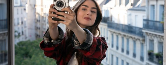 Lily Collins Revealed Her Character's Age on Emily in Paris, and We Have Some Questions