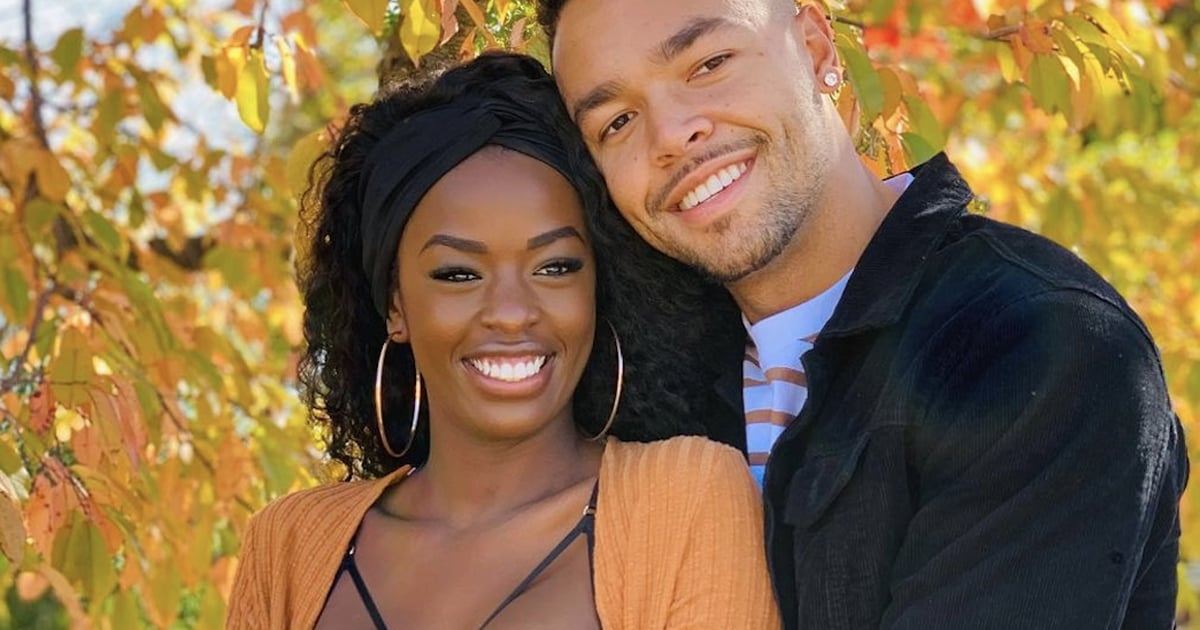 Love Island's Justine and Caleb Enjoy a Pumpkin Patch Date, and It's the Romantic Glow For Me
