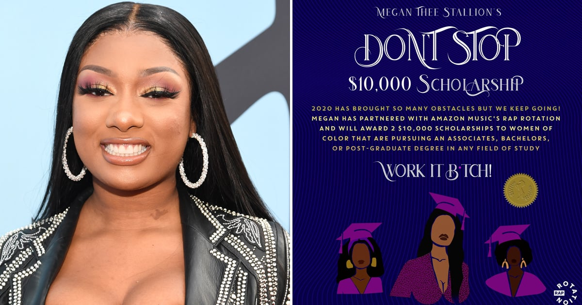 Megan Thee Stallion Is Giving Away 2 $10,000 College Scholarships to Women of Color