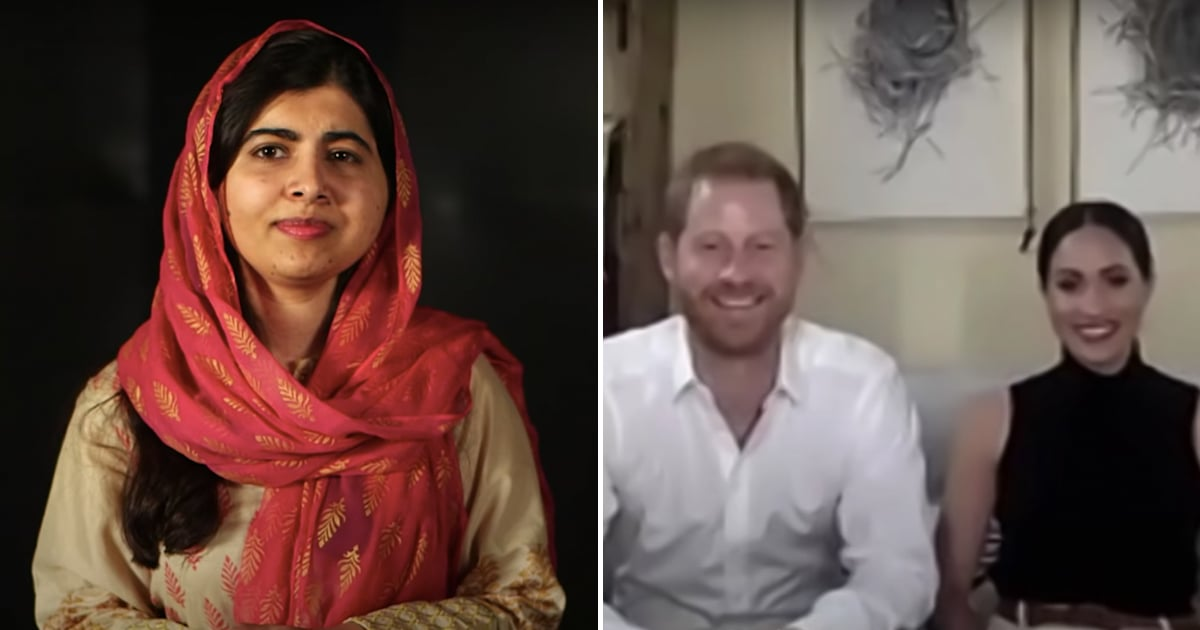 Meghan Markle and Prince Harry Chat With Malala About the Importance of Girls' Education