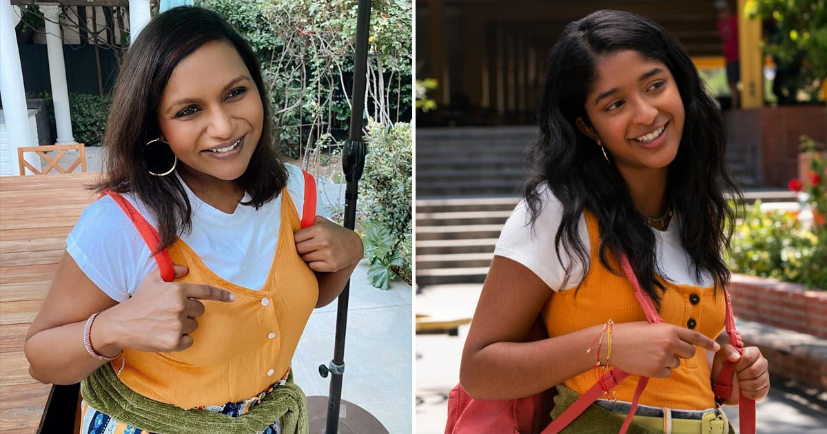 Mindy Kaling Channeled Devi From Never Have I Ever For Halloween, and Yep, She Nailed It