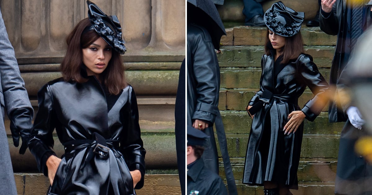 Move Over, Battinson! We're All About These Photos of Zoë Kravitz as Selina Kyle
