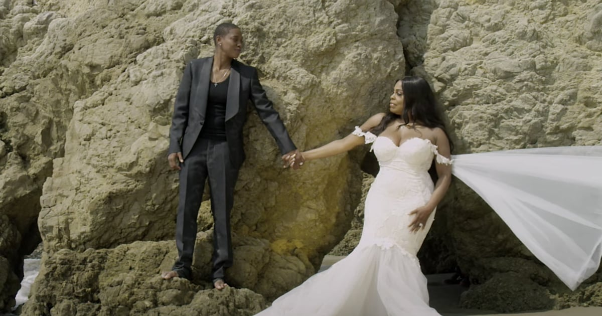 """Niecy Nash Recites Her Wedding Vows in Wife Jessica Betts's Stunning """"Catch Me"""" Video"""
