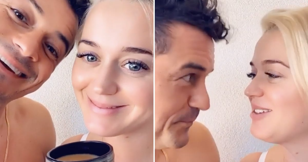 "Orlando Bloom and Katy Perry Serenade Fans With a Catchy Voting Song: ""For Daisy Dove"""