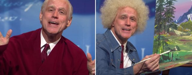 SNL: Jim Carrey's Joe Biden Gives Big Mister Rogers and Bob Ross Vibes in Town Hall Skit