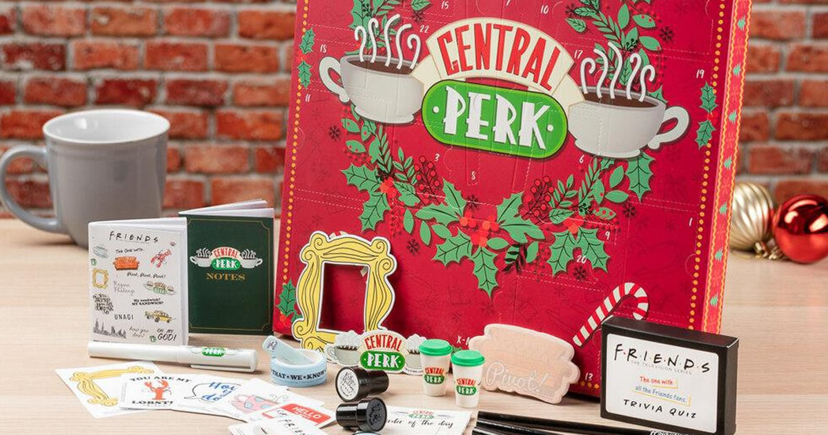"The One With 24 Little Doors: This 2020 Friends Advent Calendar Is Full of ""Central Perks"""