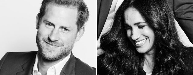 We're Not at All Jealous of How Happy Harry and Meghan Look in Their Newest Portrait