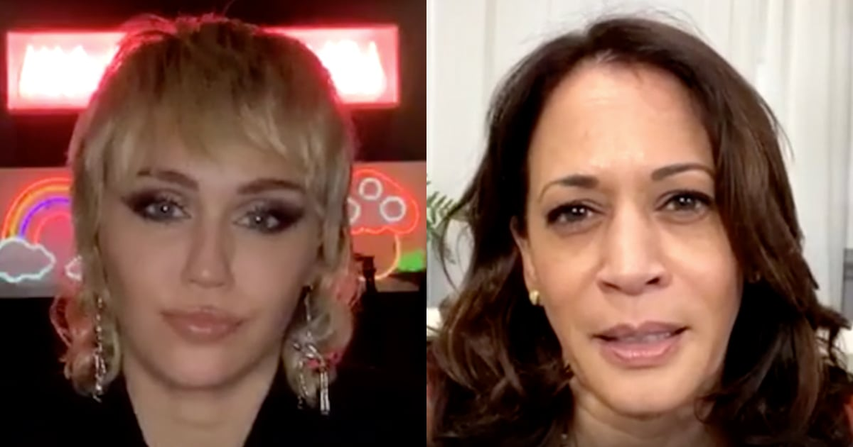 You Need to Watch Miley Cyrus and Kamala Harris's Interview About the Importance of Voting