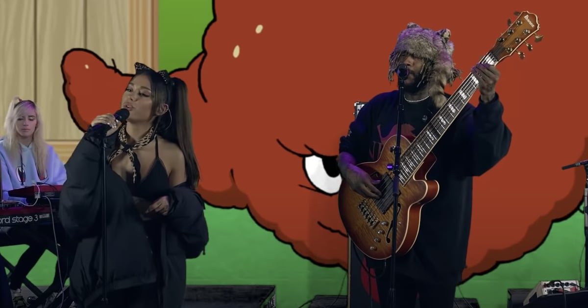 """Ariana Grande and Thundercat Unite For a Groovy Performance of """"Them Changes"""""""