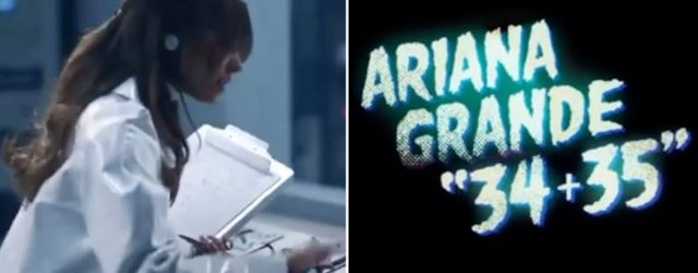 "Ariana Grande's ""34+35"" Video Teaser Looks Scientifically Sexy, So Get Your Lab Coats Ready"