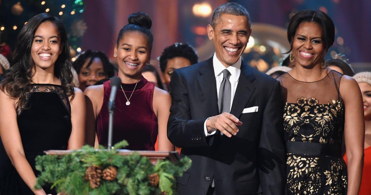 "Barack Obama Gushes About Michelle, Sasha, and Malia's ""Badass Qualities"""