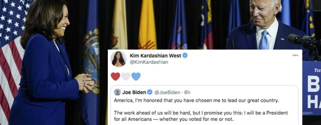 Celebrities Who Never Endorsed Biden-Harris Seem Too Comfortable Claiming Their Victory