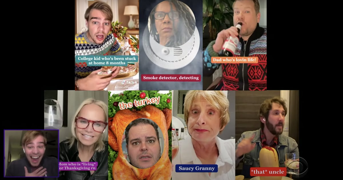 James Corden and TikTok Just Made Thanksgiving a Little More Theatrical