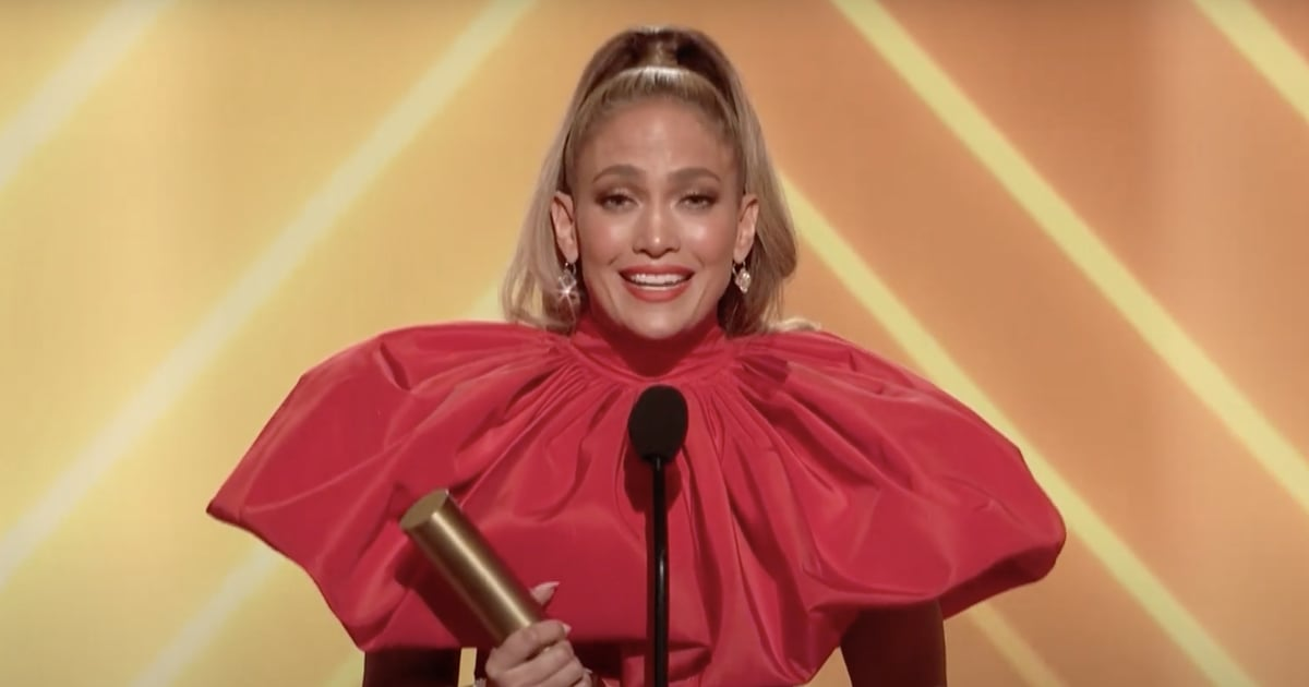 "Jennifer Lopez Reflects on Her Career as the Icon Award Honoree at PCAs: ""I Lead With Love"""