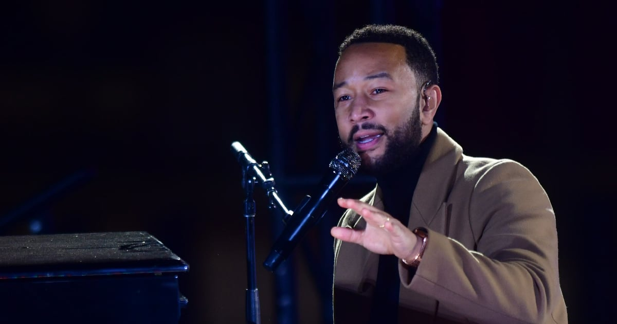 """John Legend Delivers Powerful Speech at Biden Rally: """"You Can't Bank on a Word [Trump] Says"""""""