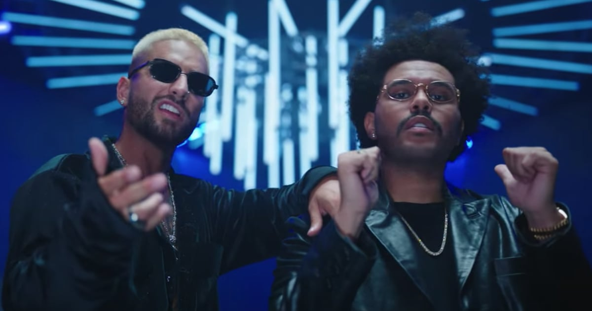 """Maluma Drops the """"Hawái"""" Remix Video, and The Weeknd Sounds Even Sexier in Spanish"""