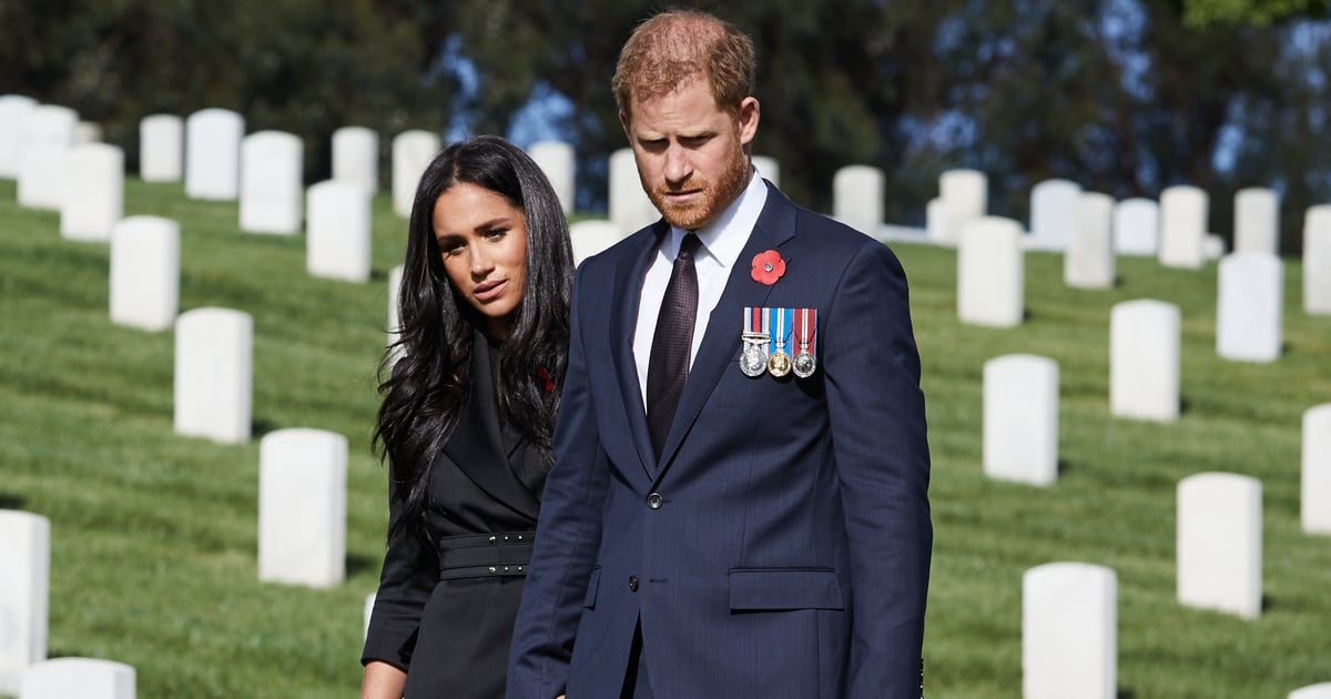 Meghan Markle and Prince Harry Privately Visited a Cemetery to Honor Remembrance Day