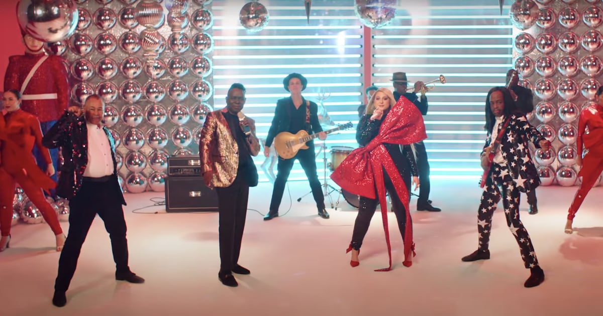 """Meghan Trainor's Music Video For """"Holidays"""" Might Just Be the Hottest Party of the Year"""