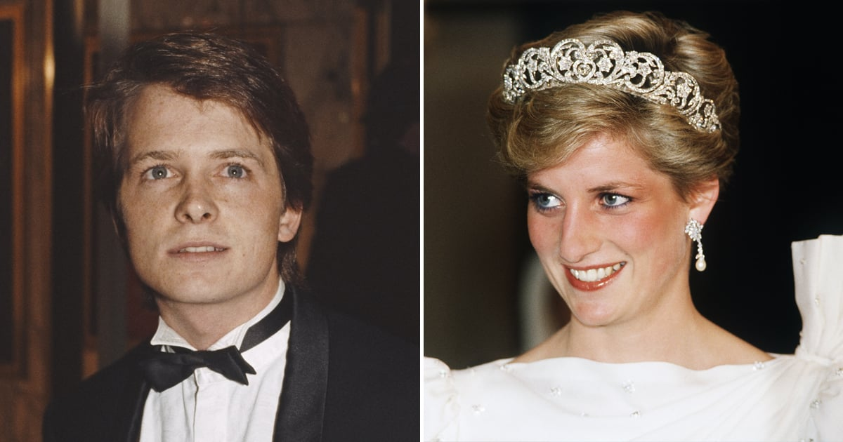 Michael J. Fox Recalls Watching Back to the Future With Princess Diana at the 1985 Premiere