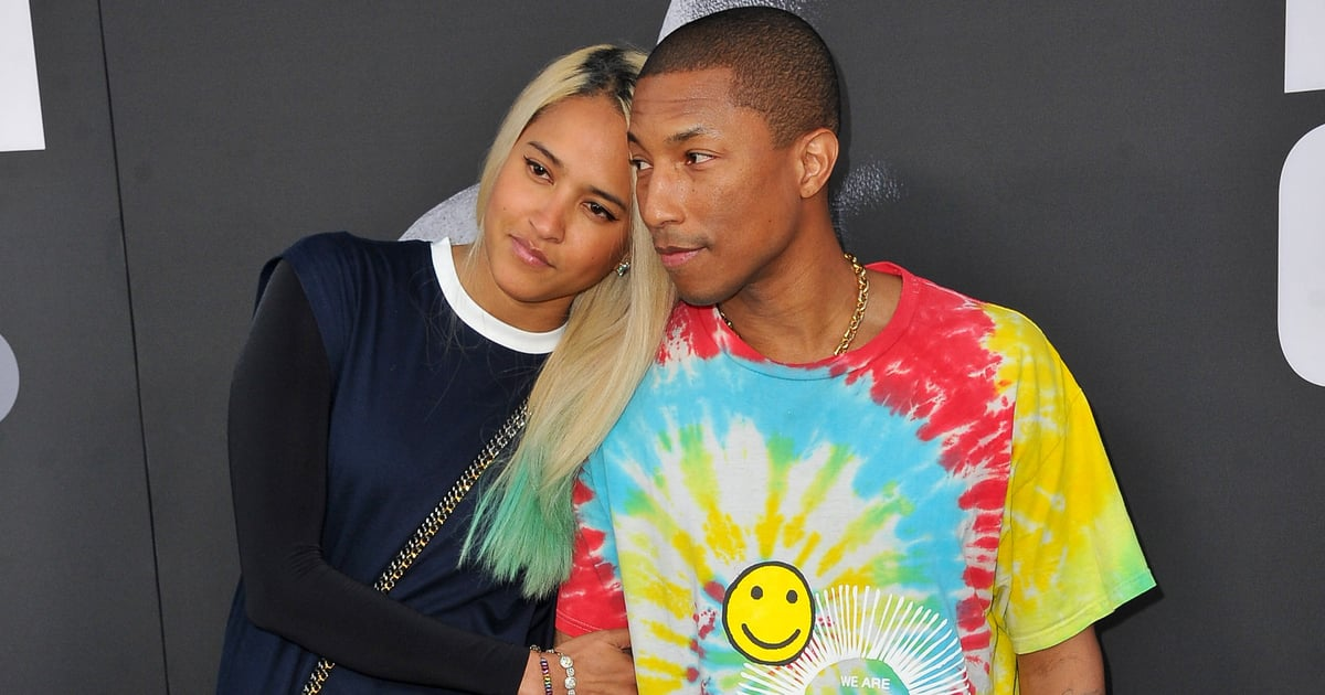 Pharrell Williams and Helen Lasichanh, Coolest Couple Ever, Are Not Too Cool For PDA