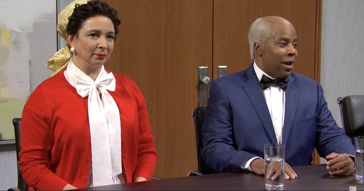 Practically Everyone Breaks Character During SNL's Hilarious Aunt Jemima and Uncle Ben Skit