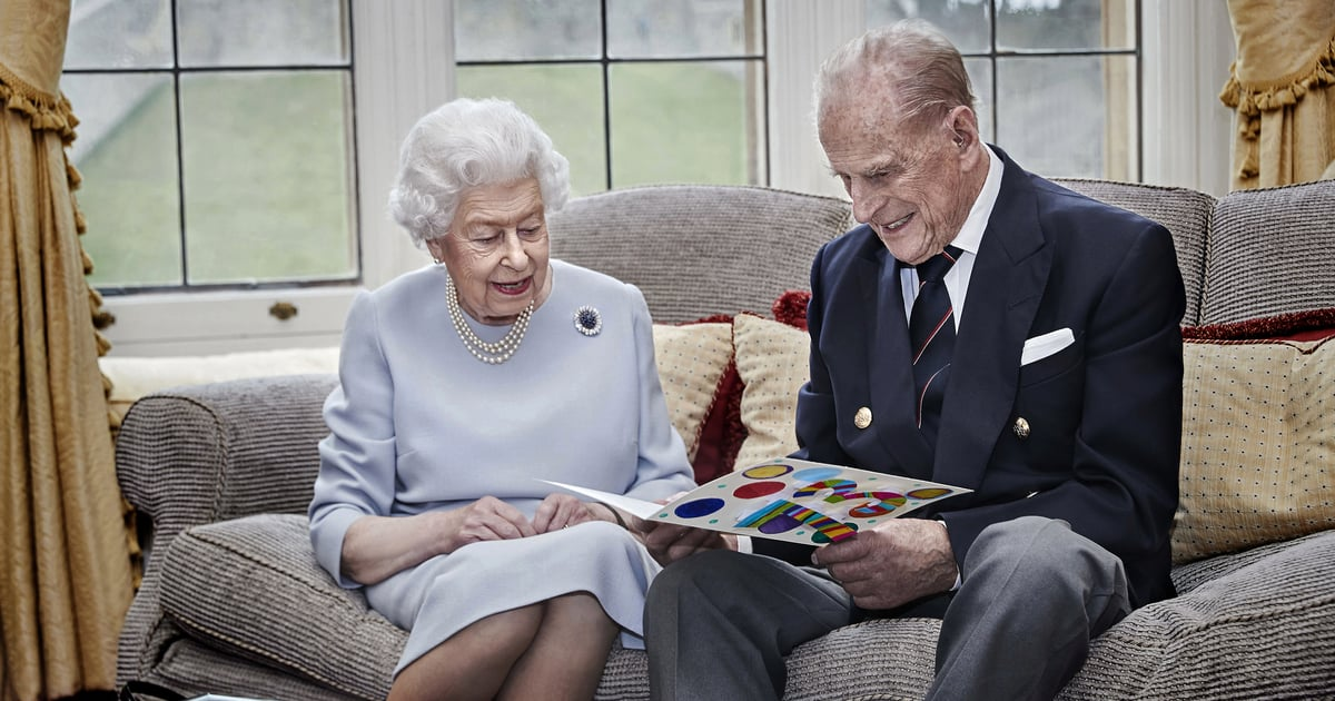 Queen Elizabeth II and Prince Philip Celebrate Their 73rd Anniversary With a New Portrait