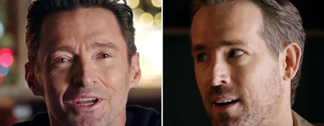 """Ryan Reynolds and Hugh Jackman Set Their """"Feud"""" Aside For the Holidays — Well, Sort Of"""