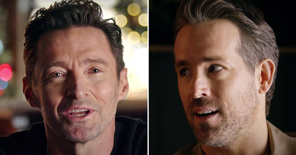 "Ryan Reynolds and Hugh Jackman Set Their ""Feud"" Aside For the Holidays — Well, Sort Of"