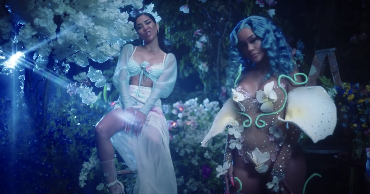 """Saweetie and Jhené Aiko Float on Clouds and Move on From Men in """"Back to the Streets"""" Video"""