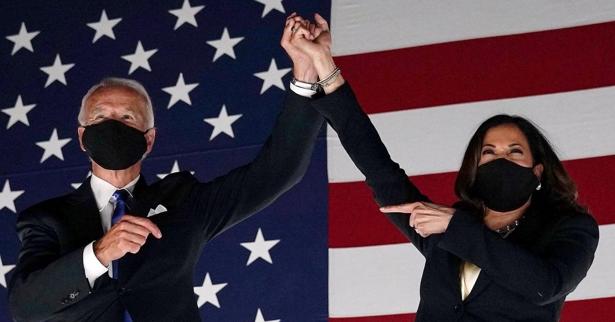 Stars and Political Leaders React to Joe Biden and Kamala Harris's Historic Election Win