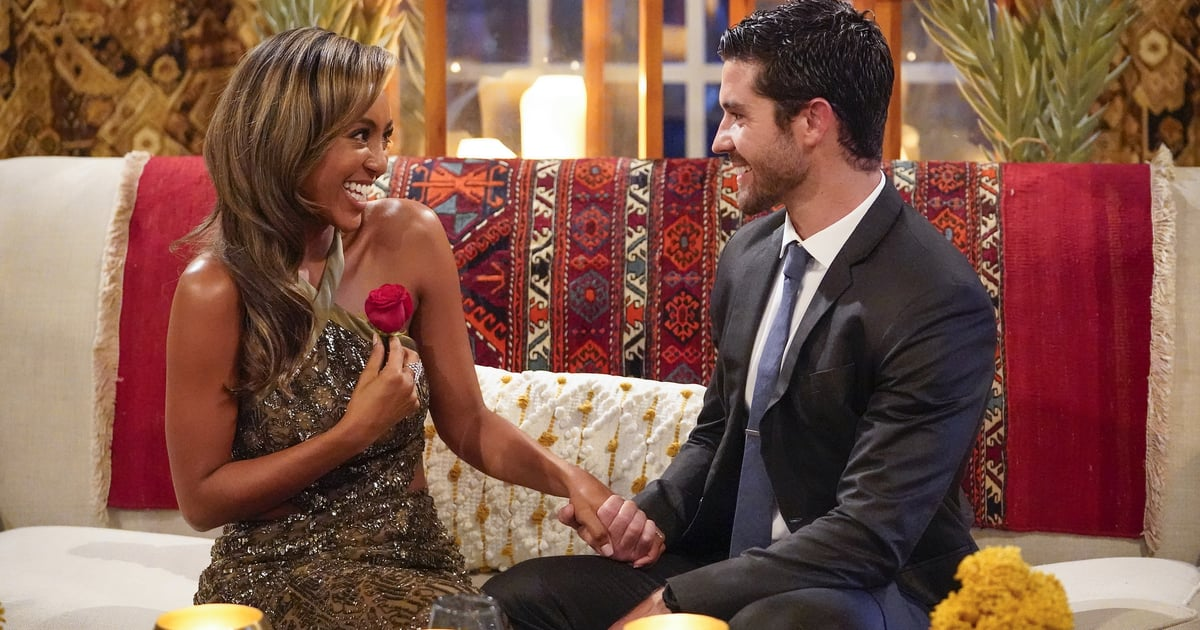"""The Bachelorette: Spencer Makes Tayshia's Heart """"Skip a Beat"""" and Nabs First Impression Rose"""