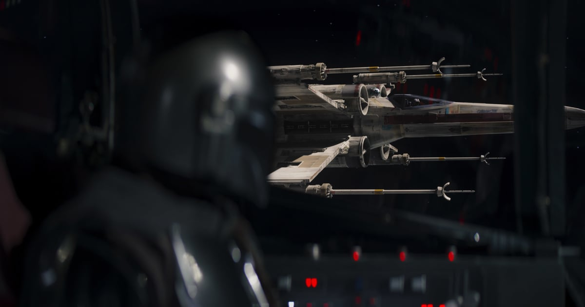 There's a Good Reason You Recognize The Mandalorian's X-Wing Pilots