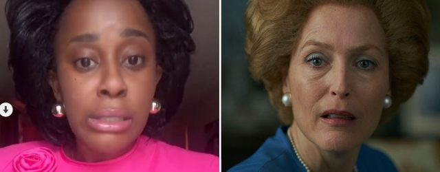 This Comedian's Impression of Margaret Thatcher on The Crown Is Royally Funny
