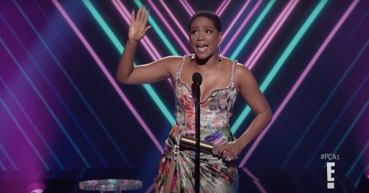 Tiffany Haddish Used Her People's Choice Awards Speech to Call Out the Many Crises in Africa